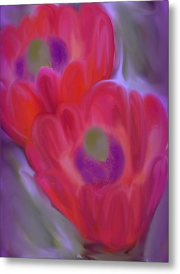Close Up Beauty Metal Print by Vickie Judkins
