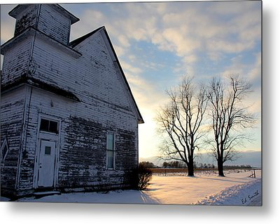 Closed On Sunday Metal Print by Ed Smith