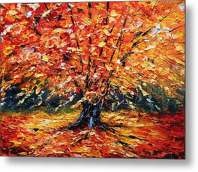 Clothed With Splendor Metal Print by Meaghan Troup