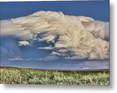 Cloud Brew Metal Print by Bill Kesler