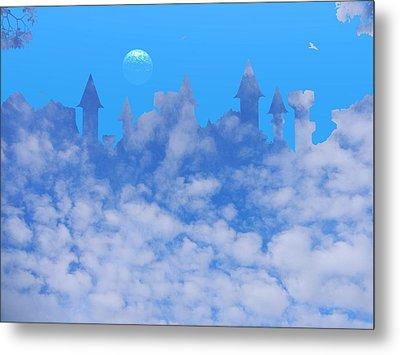 Cloud Castle Metal Print by Mark Blauhoefer