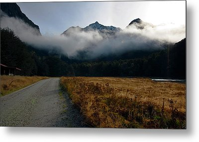 Cloud Clad Caples Metal Print