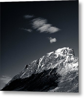 Cloud Formation Metal Print by Dave Bowman