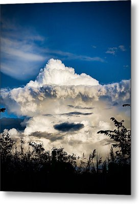 Cloud Formation Metal Print by Michel Filion