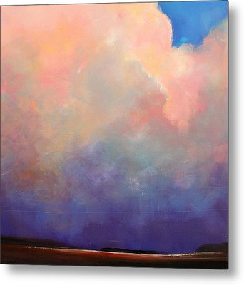 Cloud Light Metal Print by Toni Grote
