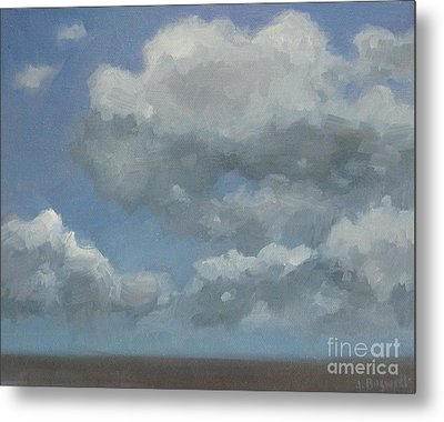 Cloud Study Series Three Metal Print