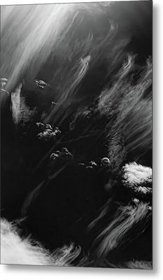 Metal Print featuring the photograph Cloud Wisp by Britt Runyon