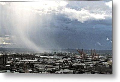 Cloudburst - Tacoma Metal Print by Sean Griffin