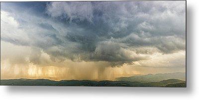 Storm Clouds - Blue Ridge Parkway Metal Print
