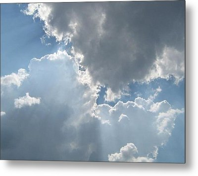 Clouds 1 Metal Print by Barbara Yearty