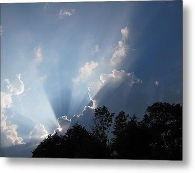 Metal Print featuring the photograph Clouds 7 by Douglas Pike