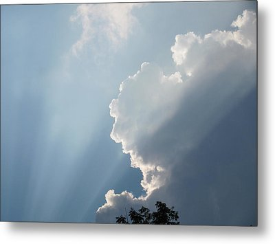 Metal Print featuring the photograph Clouds 8 by Douglas Pike