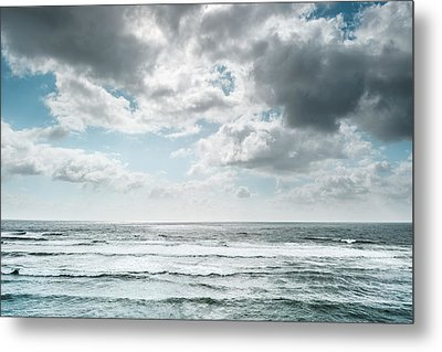 Metal Print featuring the photograph Clouds Dream Of Being Oceans by Alexander Kunz