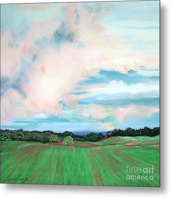 Clouds I Metal Print by Lucinda  Hansen