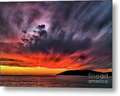 Metal Print featuring the photograph Clouds In Motion Before The Storm by Vivian Krug Cotton