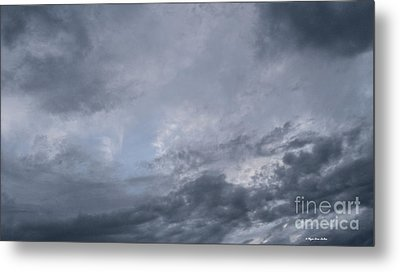 Metal Print featuring the photograph Clouds by Megan Dirsa-DuBois