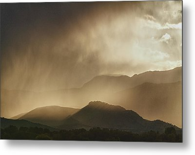 Clouds On The Rocky Mountains Front Range Foothills Metal Print by James BO  Insogna