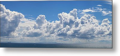 Clouds Over Catalina Island - Panorama Metal Print