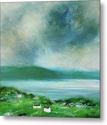 Clouds Over Malin Head, Donegal Metal Print
