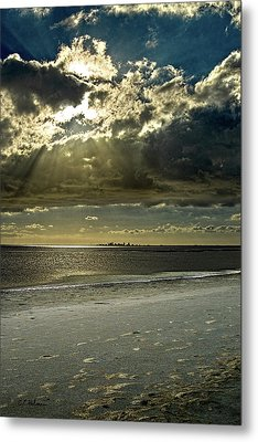 Clouds Over The Bay Metal Print by Christopher Holmes