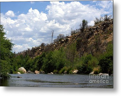 Clouds Over The Kern Metal Print