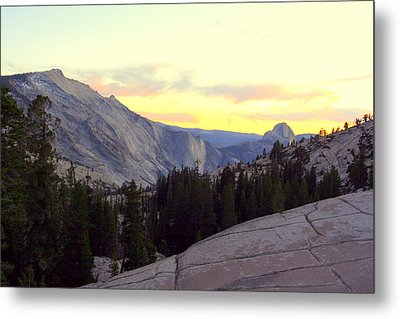Metal Print featuring the photograph Clouds Rest And Half Dome by Lynn Bawden