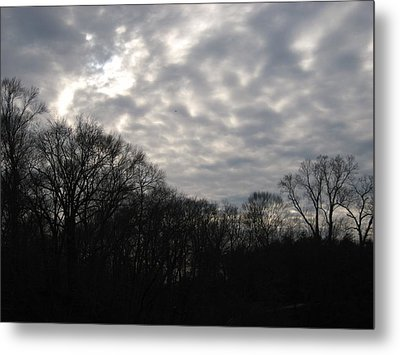 Clouds Roll Over The Sky Metal Print by Jennifer  Sweet