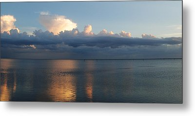 Clouds Metal Print by Steven Scott