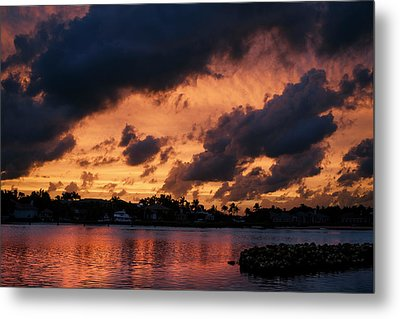 Metal Print featuring the photograph Cloudscape by Laura Fasulo