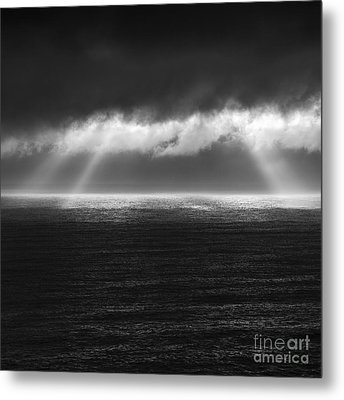 Cloudy Day At The Sae Metal Print