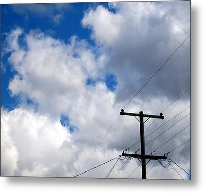 Cloudy Day Metal Print by Patricia Strand