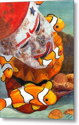 Clown Fish Metal Print by Catherine G McElroy
