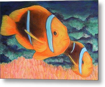 Clown Fish #310 Metal Print by Donald k Hall