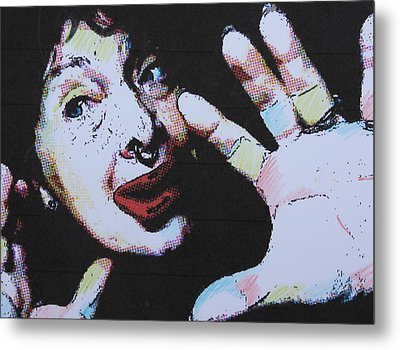 Clowning Around Metal Print