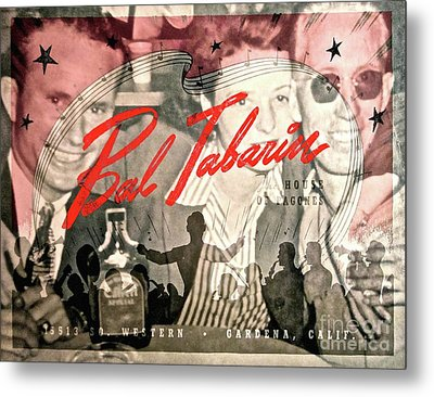 Clubbing In The 50s Metal Print by Gwyn Newcombe