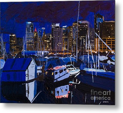 Coal Harbour Metal Print by Ginevre Smith