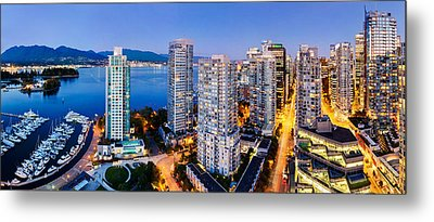 Coal Harbour In Vancouver Metal Print by Alexis Birkill
