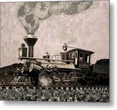 Coal Train To Kalamazoo Metal Print by Kerri Ertman