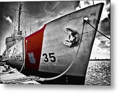 Coast Guard Metal Print by Alessandro Giorgi Art Photography