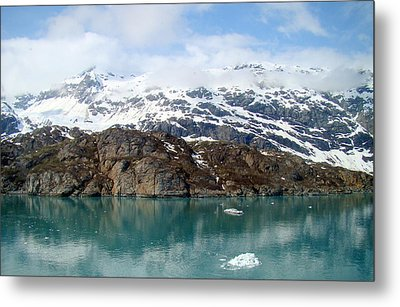 Coastal Beauty Of Alaska 5 Metal Print