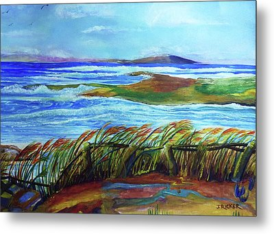 Coastal Winds Metal Print