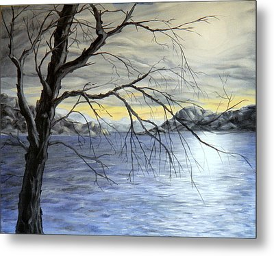Coastal Evening Metal Print
