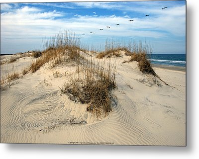 Coastal Formation Metal Print by Kelvin Booker