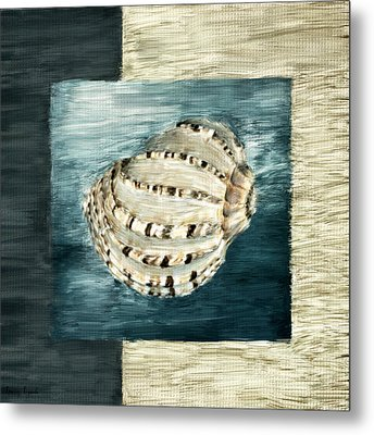 Coastal Jewel Metal Print by Lourry Legarde