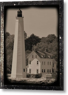 Coastal Lighthouse 2 Metal Print