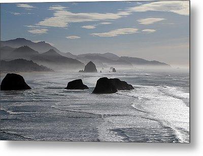 Coastal Mist Metal Print by Randall Brewer