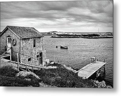 Coastal Scene - St. Margaret's Bay - Canada Metal Print by Nikolyn McDonald