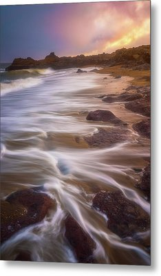 Metal Print featuring the photograph Coastal Whispers by Darren White