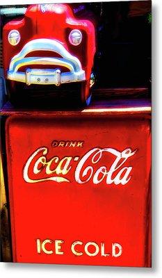 Coca Cola Ice Cold Metal Print