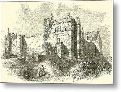 Cockermouth Castle Metal Print by English School